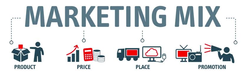 Le marketing mix guide les choix des canaux de distribution